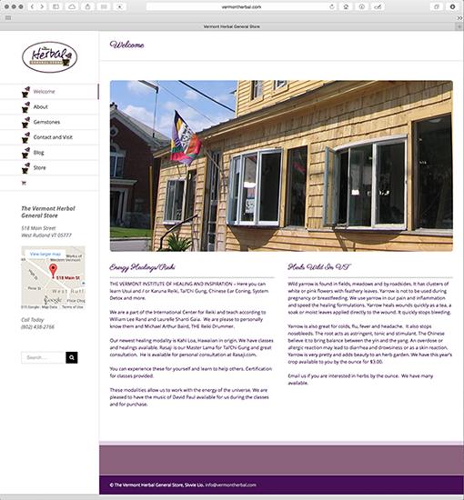 Vermont Herbal Genera Store
